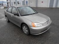2003 Honda Civic 5 Speed Excellent Condition Runs Great