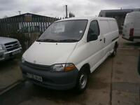 1998 S TOYOTA HI-ACE POWERVAN 2.4D S LWB PANEL VAN IDEAL FOR EXPORT