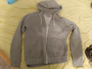 Gray old navy hoodie