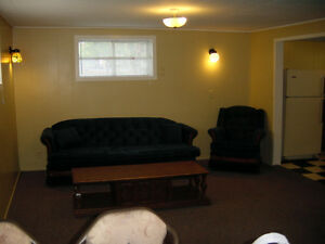 Fully furnished one bedroom suite for rent
