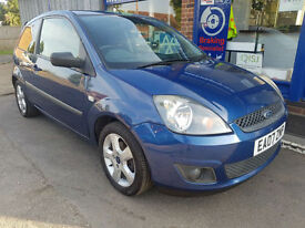2007 FORD FIESTA 1.25 FREEDOM ALLOYS MOT MAY 2018 70K