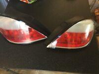 Vauxhall Astra mark 5 rear lights