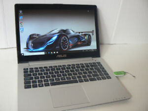 ASUS ULTRABOOK 14.3inCore i5 Laptop 24ssd Cache 750HD mint Win10