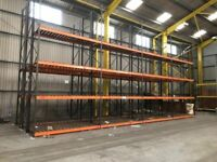 HI-LO RACKPLAN COMMERCIAL WAREHOUSE PALLET RACKING SYSTEM (Brentwood Branch)