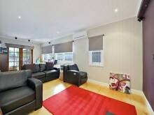 Almost NEW Quality Leather Cinema Suite (Black) Lindfield Ku-ring-gai Area Preview