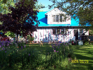 Farm with Lakefront   6 .5 Acres