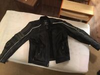 Harley Davidson - Leather Jacket with Armour