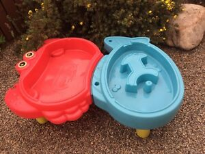 Water table & tug boat
