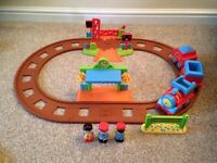 Happyland Train Station Set