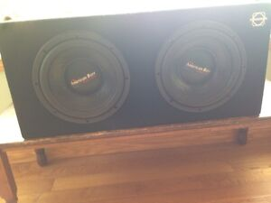 Sub woofers and Amp Kawartha Lakes Peterborough Area image 2
