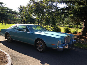 1975 Lincoln Mark IV Rare BLUE DIAMOND Luxury Package
