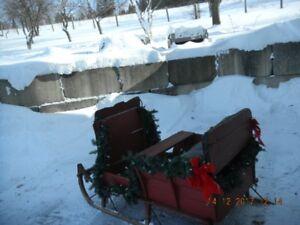 Traineau pour chevaux (sleigh)