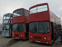 1988 Leyland Olympian Double Decker Bus Open Top Cummins Engine - Choice of 3