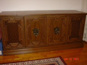 ANTIQUE STEREO SYSTEM