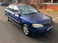 Vauxhall Astra 1.7DTi 16v 2003MY Club. CHEAP DIESEL LOW MILEAGE 112 K. MOT 11/18