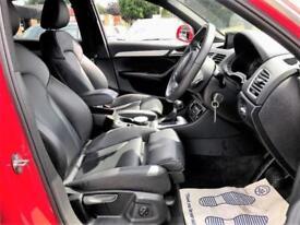 2015 Audi Q3 2.0 S line Plus S Tronic Quattro (s/s) 5dr Petrol red Semi Auto