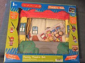 Toy theatre set