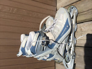 Like new Rollerblades aero 6 women's size 8