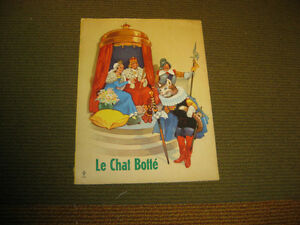 LIVRE DE COLLECTION - LE CHAT BOTTÉ - ALBUMS DU GAI MOULIN