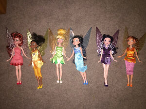 Tinker Bell & Friends Dolls