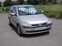 Vauxhall/Opel Corsa 1.0i 12v 2002MY Comfort