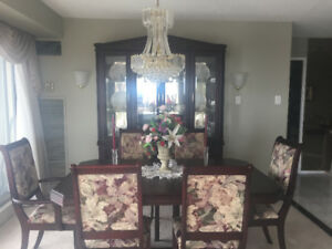 Dining Room Set Table Chairs And Buffet