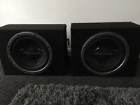 Pioneer subs and mtx amp