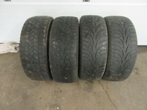 4-205/55R16 M+S WINTER TIRES CAN SELL PAIRS/SINGLES