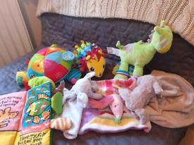 Soft baby toys lamaze