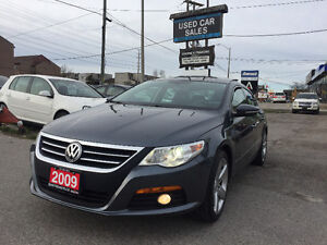 *LOW KMS*CERTIFIED*2009 Volkswagen CC Highline Sedan
