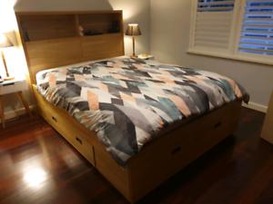 Queen Bed Frame/suite