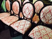 As new 6 stunning chairs