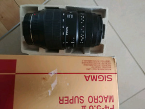 Sony alpha lens Sigma 100-300mm (A mount)
