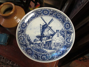 ROYAL DELFT HOLLAND BELLE ASSIETTE BLEU (  MURALE )