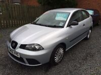 Seat Ibiza 1.2 56 reg low mileage excellent condition finance this for £20 a week