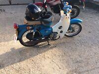 Honda c90zz 1978 6v new mot