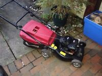 Mountfield petrol lawn mower lawnmower Briggs and Stratton engine