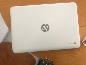 "Mint Condition 14"" HP chrome book /barely used/ intel CPU"