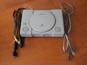 Console playstation 1 a vendre