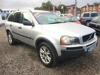 2003 VOLVO XC90 2.4 D5 SE 4 X 4 Geartronic Auto DIESEL 7 SEATER