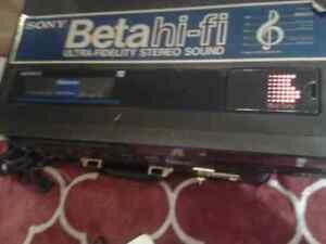 Sony beta hi-fi. Ultra fidelity stereo sound Strathcona County Edmonton Area image 5