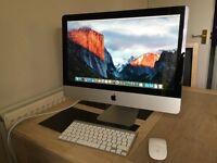 "Apple iMac 21.5"" 1Tb 4Gb Ram 3.06 Ghz Late 2009. Apple Wireless Keyboard & Mouse Original Box"