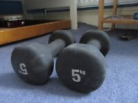 5 KG dumbbells -quick sale