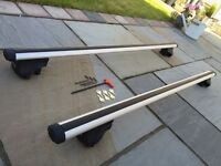 Exodus aero roof bars for BMW X5