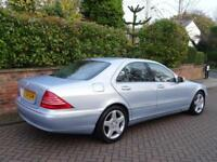 2004 54 Mercedes-Benz S320 3.2TD auto S320 CDi..1 OWNER FROM NEW !!