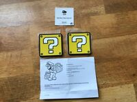 **New Rare Nintendo Placemats/Coasters**