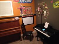Currently accepting new students for private piano lessons.