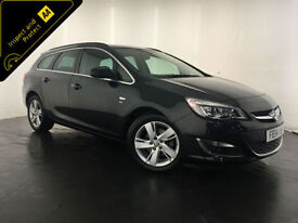 2014 VAUXHALL ASTRA SRI CDTI AUTOMATIC DIESEL 1 OWNER SERVICE HISTORY FINANCE PX