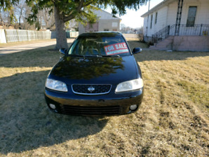 Nissan sentra 2002 for sale as is