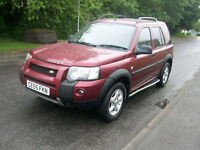 Land Rover Freelander 1.8 2005MY HSE LPG GAS CONVERSION